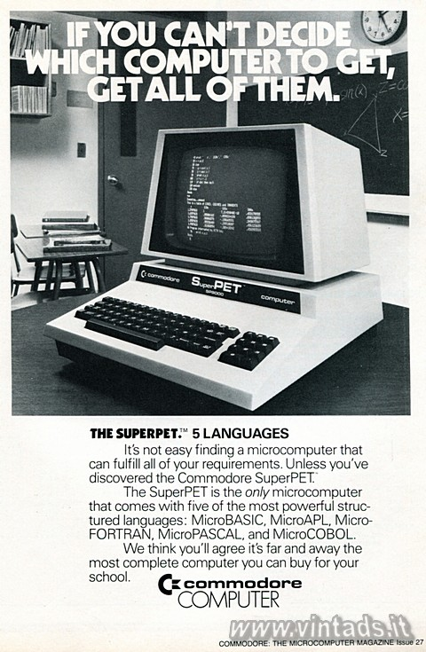 If you can't decide which computer to get, get all of them.