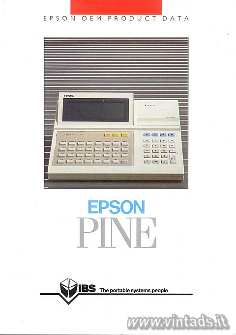 EPSON OEM PRODUCT DATA