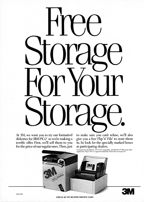 Free storage for your storage.