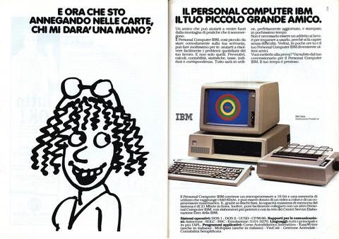 Il personal computer IBM, il tuo piccolo grande amico