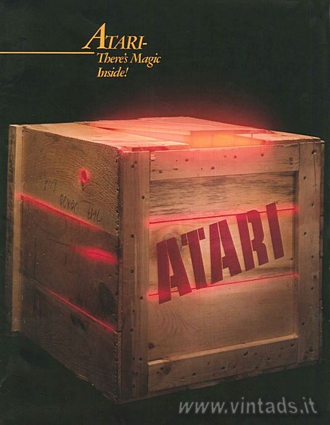 Atari. There's magic inside