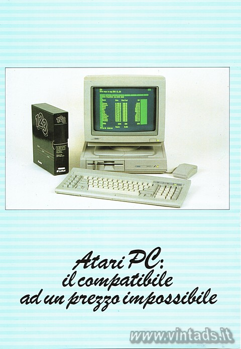 Atari PC: il compatibile ad un prezzo impossibile