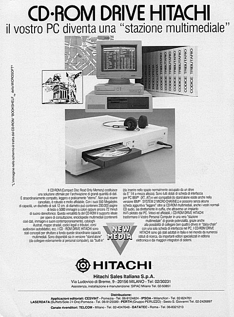 cd-rom drive Hitachi