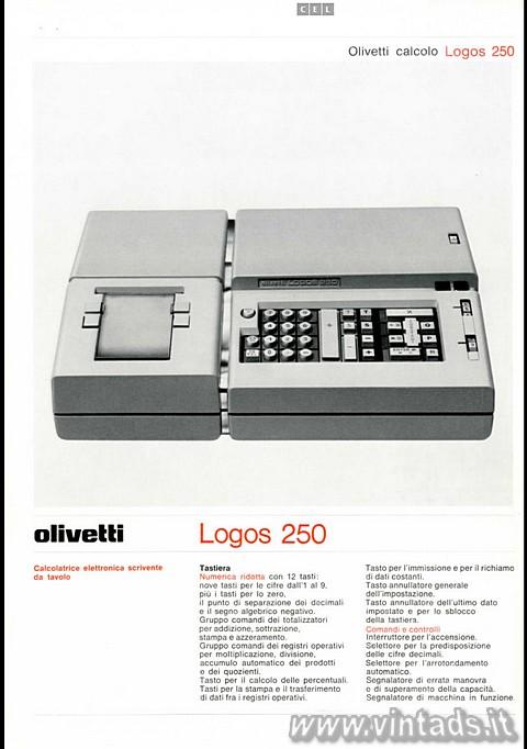 Olivetti Logos 250