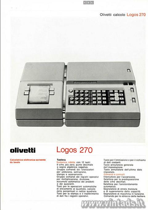 Olivetti Logos 270