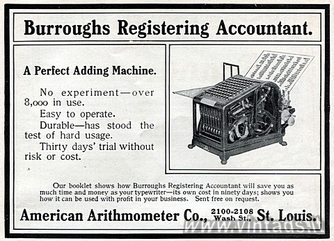 Burroughs Registering Accountant.