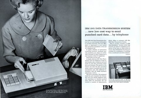 IBM 1001 DATA TRANSMISSION SYSTEM