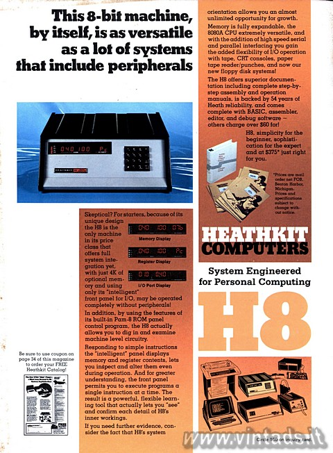 HEATHKIT H8