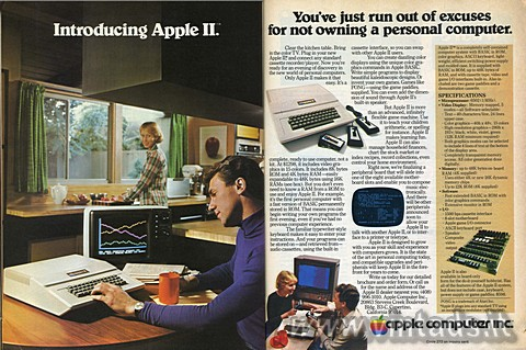 Introducing Apple II.