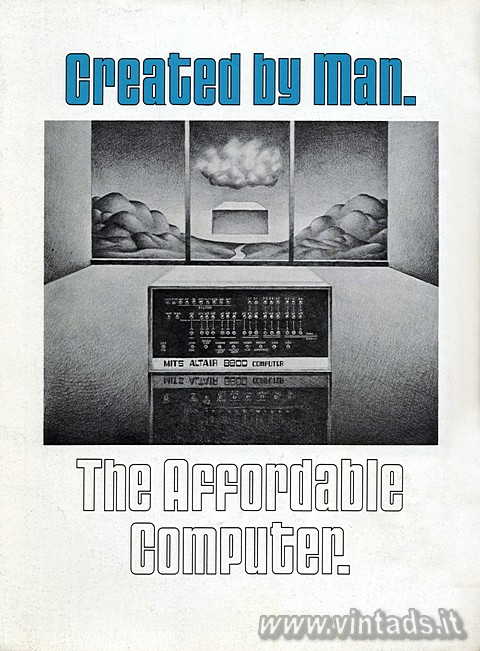 Created by man.