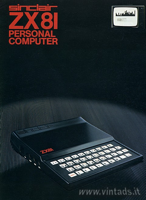 Sinclair ZX81 personal computer