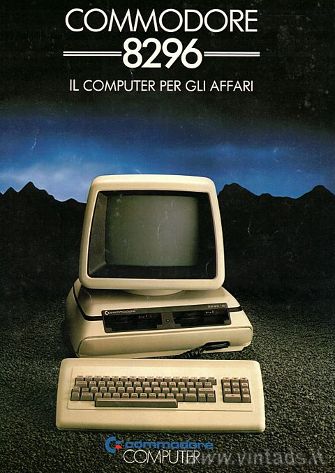 Commodore 8296 - Il computer per gli affari