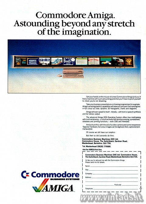 Commodore Amiga.