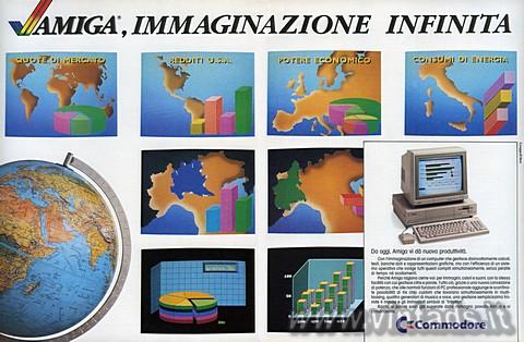 Amiga, immaginazione infinita