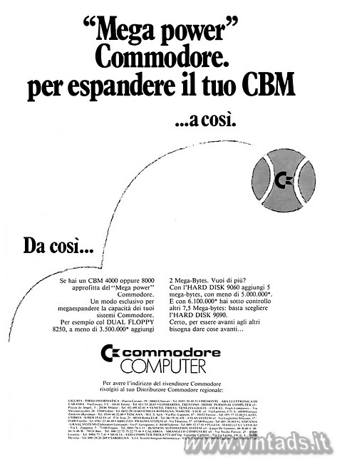 """Mega power"" Commodore.