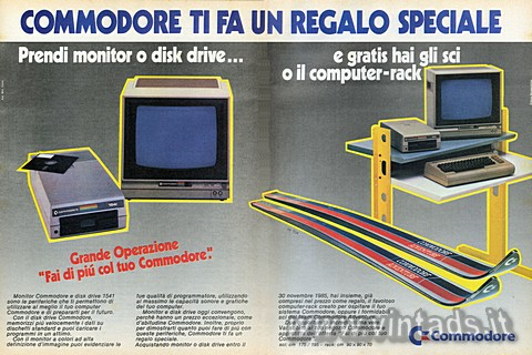 COMMODORE TI FA UN  REGALO SPECIALE