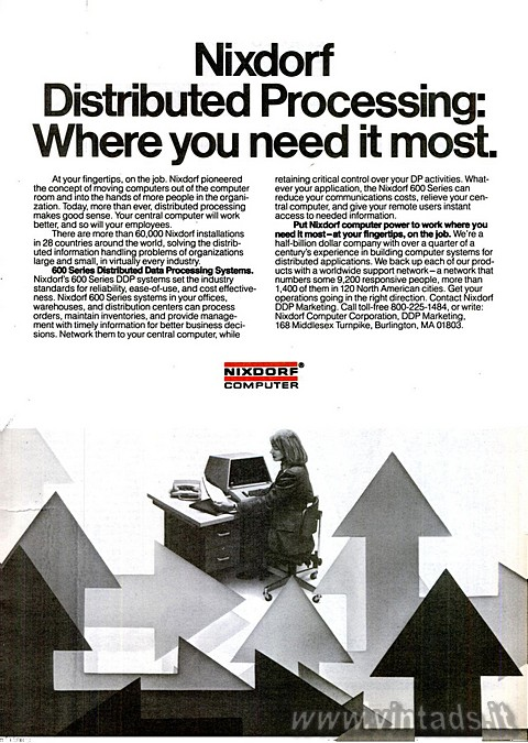 Nixdorf Distributed Processing: Where you need it most.