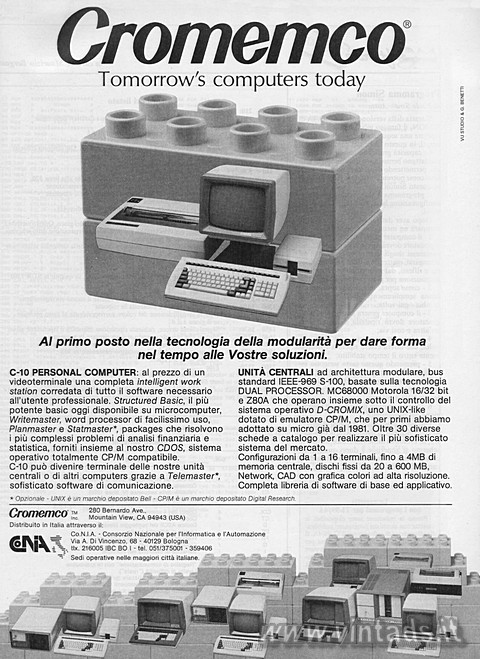 Cromemco®