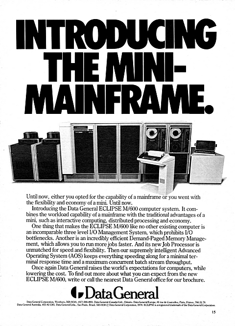Introducing the mini-mainframe.