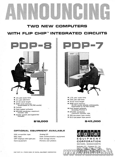 ANNOUNCING TWO NEW COMPUTERS WITH FLIP CHIP INTEGRATED CIRCUITS
