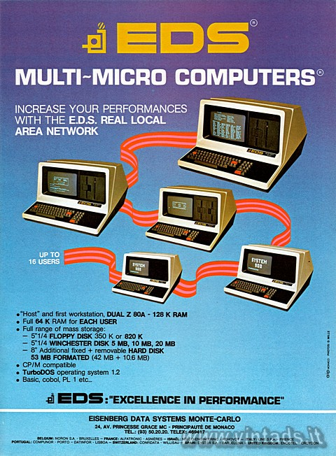 EDS MULTI-MICRO COMPUTERS