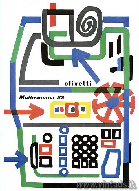 Olivetti Multisumma 22