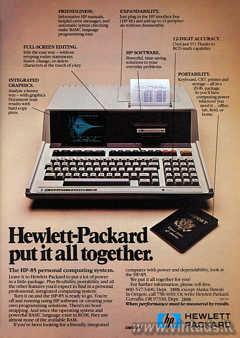 Hewlett-Packard put it all together.