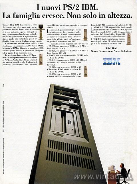 I nuovi PS/2 IBM