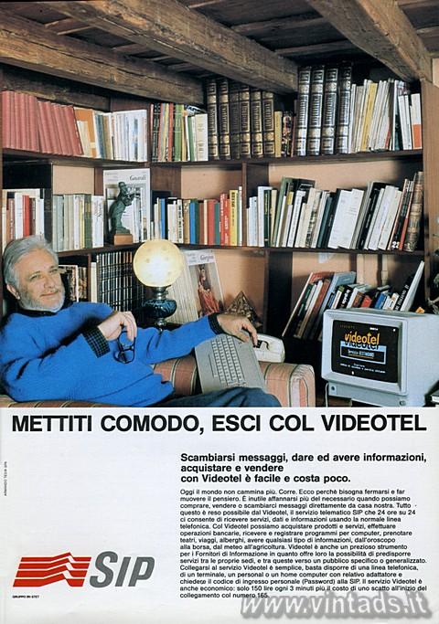 Mettiti comodo, esci col Videotel