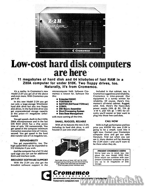 Low-cost hard disk computers are here