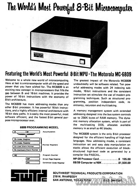 The World's Most Powerful 8-Bit Microcomputer
