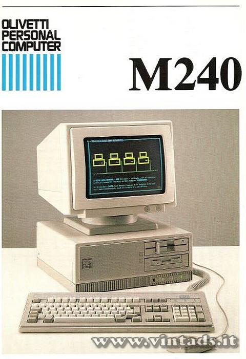 Olivetti personal computer M240
