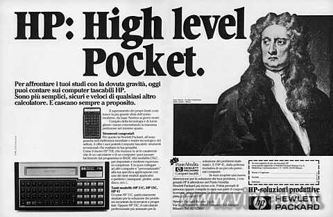 HP: High level Pocket.