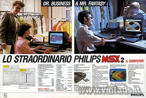 LO STRAORDINARIO PHILIPS MSX2 IL COMPUTER
