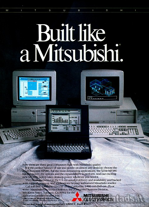 Built like a Mitsubishi.