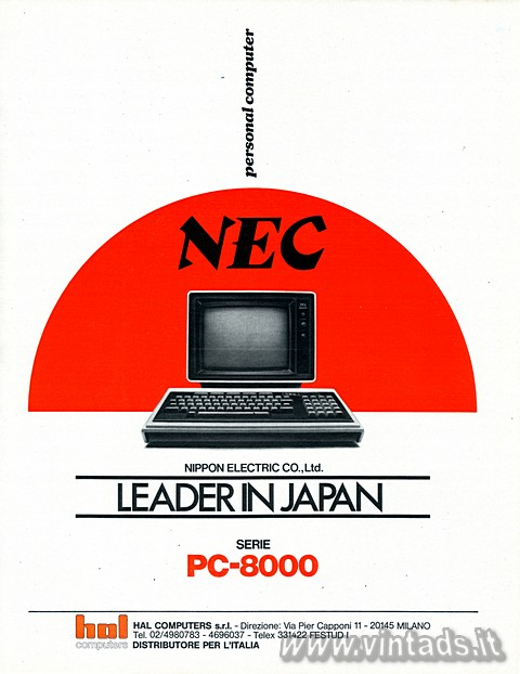 personal computer NEC