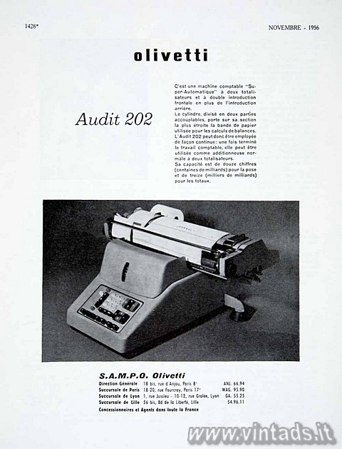 Olivetti Audit 202