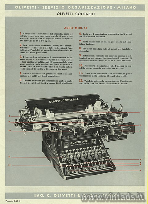 Olivetti Audit 52