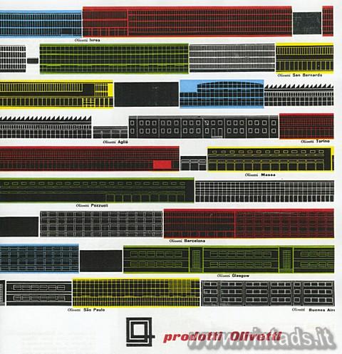 Prodotti Olivetti 1960
