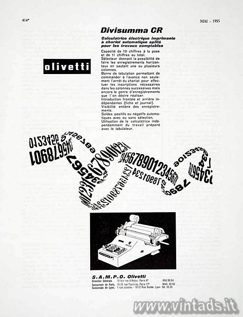 Olivetti Divisumma CR