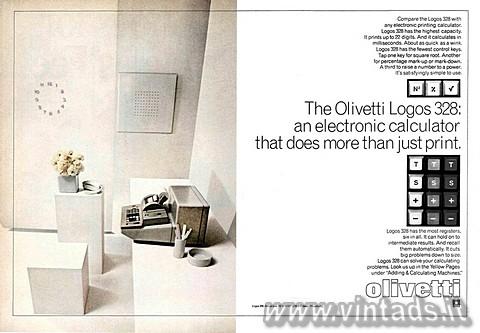 The Olivetti Logos 328