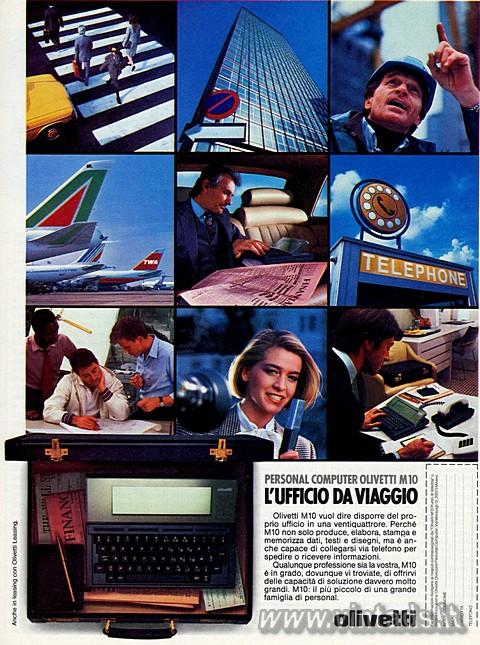 PERSONAL COMPUTER OLIVETTI M10