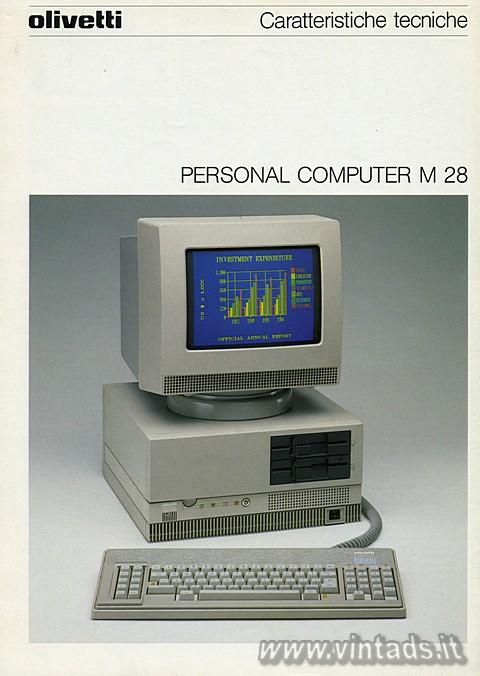 Olivetti PERSONAL COMPUTER M 28