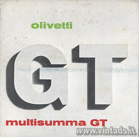 Olivetti Multisumma GT 24