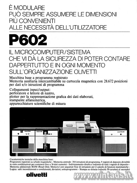 Olivetti P602
