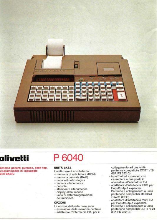 Olivetti P6040