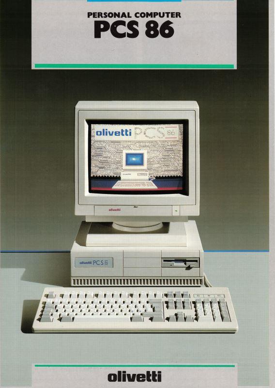 Olivetti PCS 86