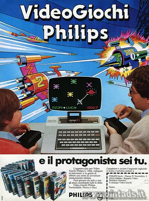 Videogiochi Philips... e il protagonista sei tu