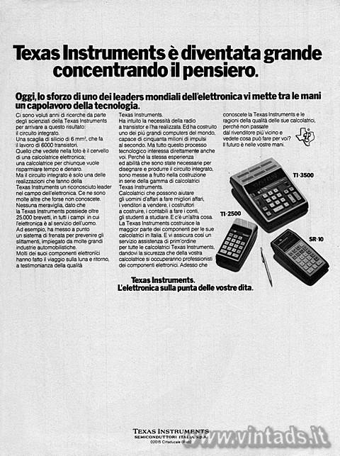 Texas Instruments è diventata grande