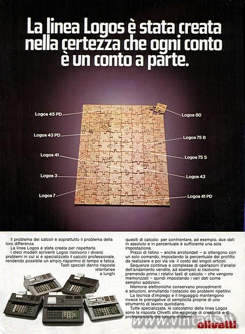 Olivetti linea Logos
